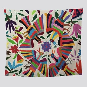 Otomi Birds Wall Tapestry