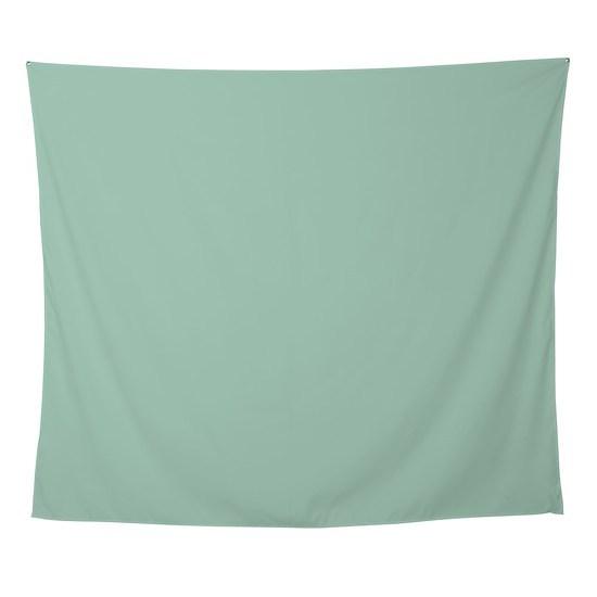 Beach Mint Seafoam Green Wall Tapestry