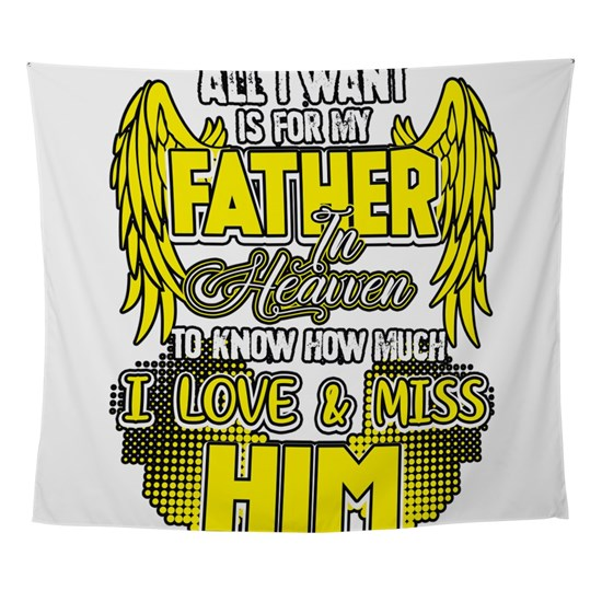 Father Heaven Love Miss Him Daddy Dad Padre Gift