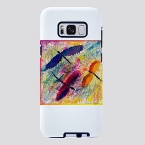 Colorful Dragonflies Samsung Galaxy S8 Plus Case