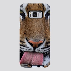 Tiger licking its paw Samsung Galaxy S8 Plus Case