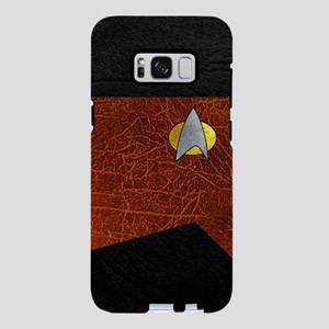 SF 2360 LEATHER REDDIS Samsung Galaxy S8 Plus Case