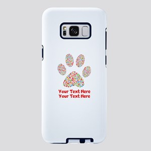 Dog Paw Print Customiz Samsung Galaxy S8 Plus Case