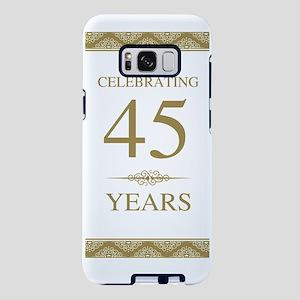 45th Wedding Anniversa Samsung Galaxy S8 Plus Case