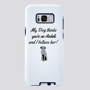 My dog knows you Samsung Galaxy S8 Plus Case