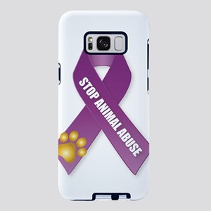Stop Animal Abuse Ribbon Samsung Galaxy S8 Plus Ca