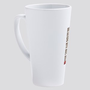 Think Before 17 oz Latte Mug