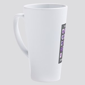 Do You Know Your ABC's? 17 oz Latte Mug