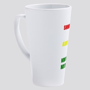 Shhh Coffee - Now You May Speak mu 17 oz Latte Mug