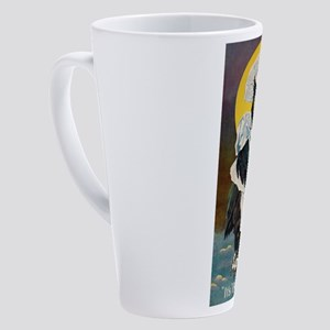 Owl Right 17 oz Latte Mug