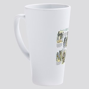 Scenes from Pride and Prejudice 17 oz Latte Mug