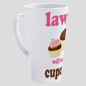 lawyer cupcakes 2010 17 oz Latte Mug