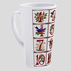 12 Days Of Christmas 17 oz Latte Mug