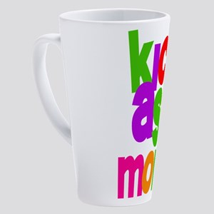 kick ass mom copy.png 17 oz Latte Mug