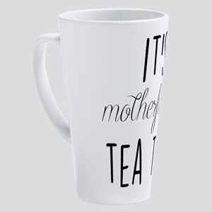 It's Tea Time 17 oz Latte Mug