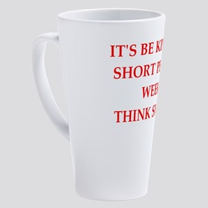 short people 17 oz Latte Mug