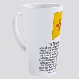 New Mexico 17 oz Latte Mug