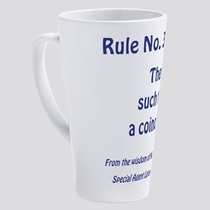RULE NO. 39 17 oz Latte Mug