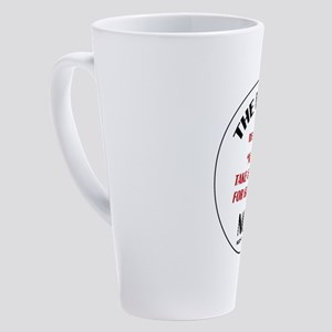 RULE NO. 8 17 oz Latte Mug
