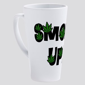 Smoke Up 17 oz Latte Mug