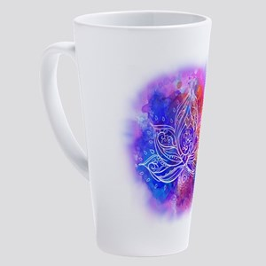 Lotus Energy 17 oz Latte Mug