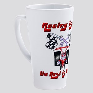 Racing is Life 17 oz Latte Mug