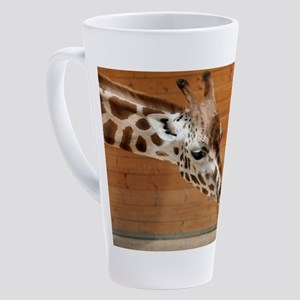 Kissing giraffes 17 oz Latte Mug