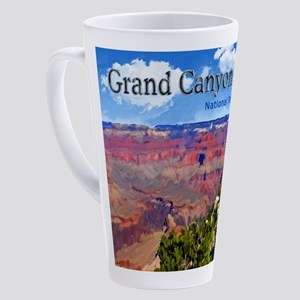 Grand Canyon NAtional Park Poster 17 oz Latte Mug