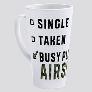 Single Relationship Airsoft Airsof 17 oz Latte Mug