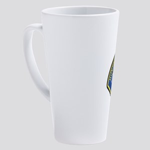huntbeachpd 17 oz Latte Mug