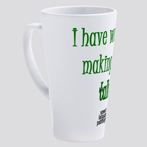 2-talkshirt 17 oz Latte Mug