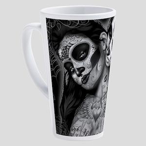 Dia De Los Muertos 17 oz Latte Mug