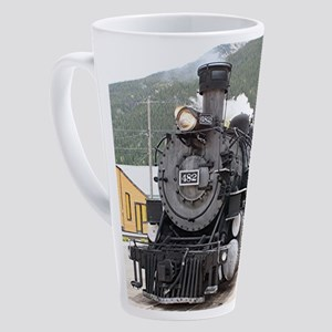 Steam train engine Silverton, Colo 17 oz Latte Mug