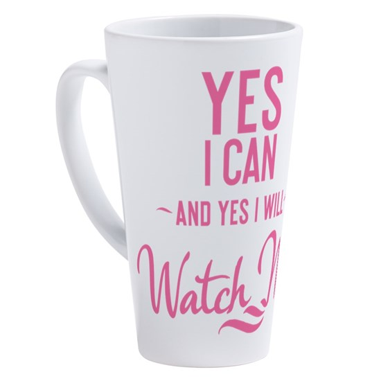 mug Yes I can and Yes I will Watch me
