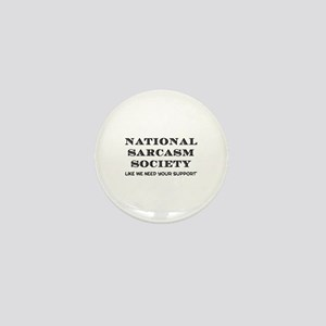 National Sarcasm Mini Button