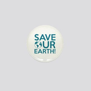 Save Our Earth Mini Button