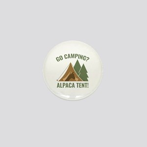 Alpaca Tent Mini Button