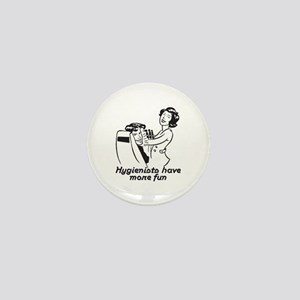 Funny Dental Hygiene Mini Button