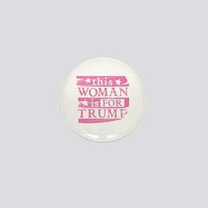 Woman for TRUMP Mini Button