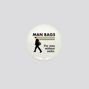 Man Bags Mini Button