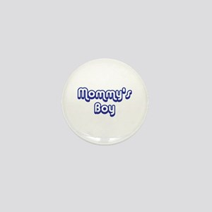 Mommy's Boy Mini Button