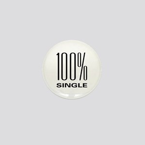 100% Single Mini Button