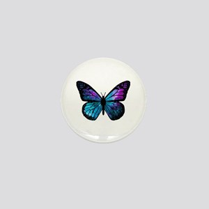 Galactic Butterfly Mini Button