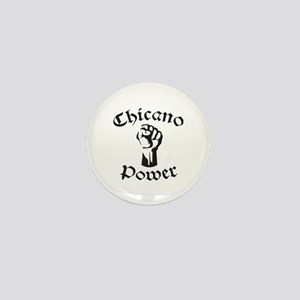 Chicano Power Mini Button