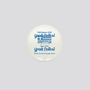 Greek Festival Mini Button