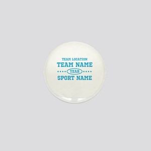 Sports Team Personalized Mini Button
