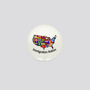 USA: Immigration Nation Mini Button