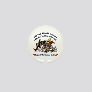 All Gods Creatures Mini Button