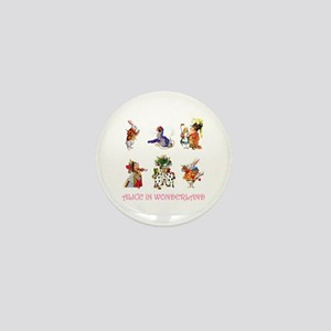 Alice & Friends in Wonderland Mini Button