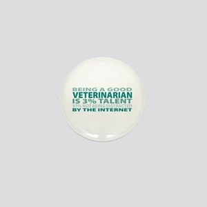 Good Veterinarian Mini Button
